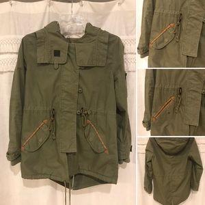 Anthropologie Army Jacket